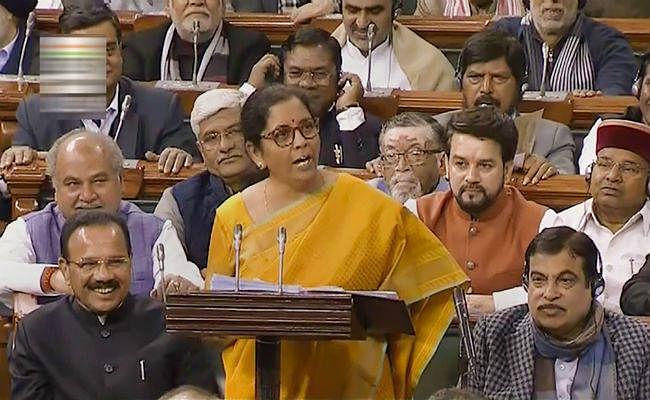 #Budget2020 : मिडिल क्लास को बड़ी राहत, जानें 2 घंटे 40 मिनट के भाषण में क्या-क्या बोलीं वित्त मंत्री निर्मला सीतारमण