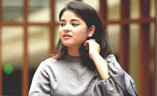 जायरा वसीम ने कश्मीर के हालात पर तोड़ी चुप्पी, कहा - फैलाया जा रहा है झूठ