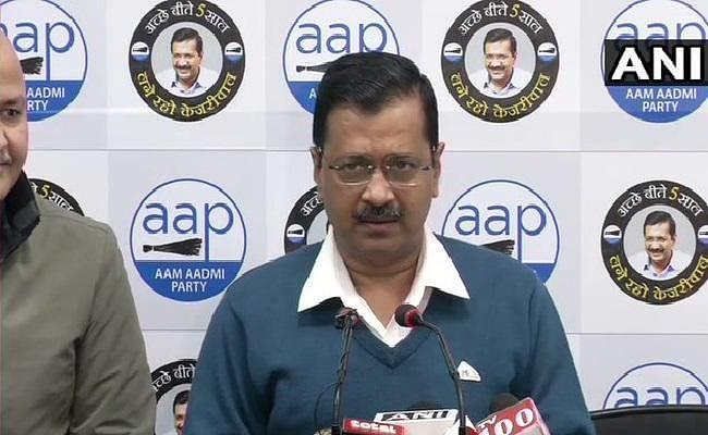 केजरीवाल ने भाजपा को अपना मुख्यमंत्री उम्मीदवार घोषित करने की चुनौती दी