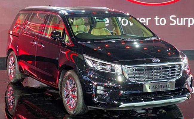 Auto Expo 2020: Kia मोटर्स ने पेश की 9 सीटर MPV Carnival