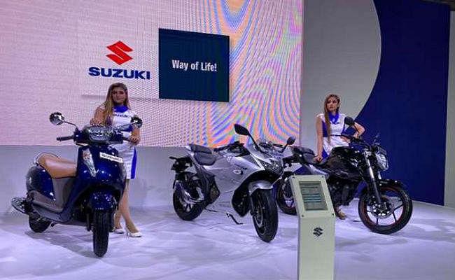 Auto Expo 2020: Suzuki ने पेश किये ये नये टू-व्हीलर्स