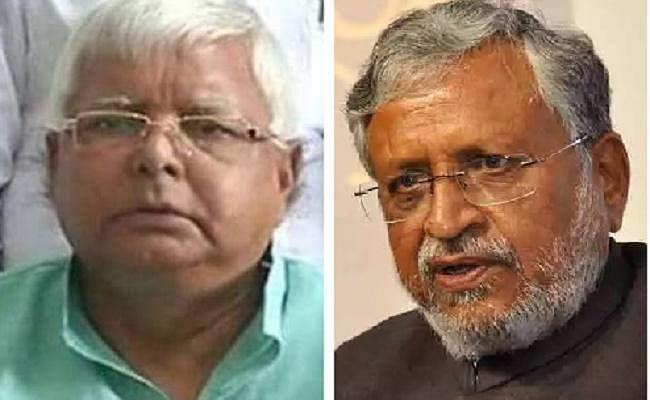सुशील मोदी के निशाने पर लालू प्रसाद, कहा- अयोध्या रथयात्रा रोकने वाले आज जेल में काट रहे हैं सजा