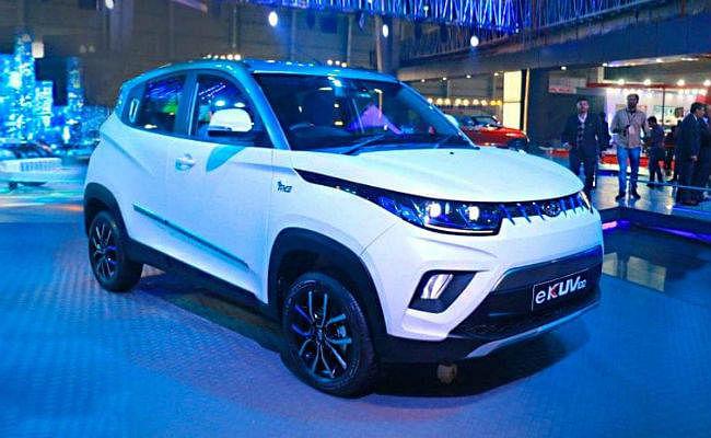 Auto Expo 2020: Mahindra ने पेश की सबसे सस्ती इलेक्ट्रिक कार eKUV100