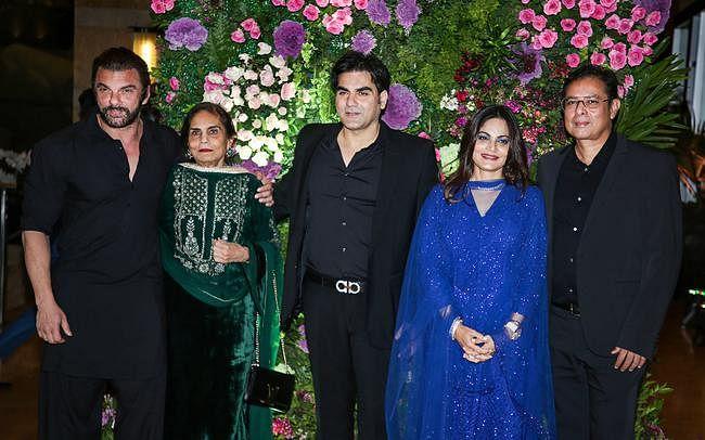 अरमान-अनीसा की शादी में बॉलीवुड सितारों से सजी शाम, देखें कुछ खास तस्वीरें