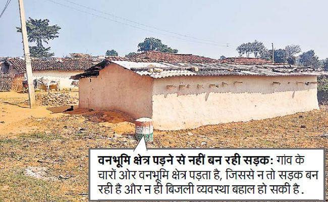 टापू से कम नहीं है झारखंड का पृथ्वीपुर गांव, पोल है बिजली नहीं, गांव है सड़क नहीं, गर्भवती ससुराल छोड़ चली जाती हैं मायके