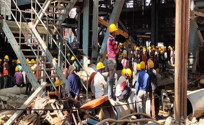 झारखंड : टंडवा में NTPC के पावर प्लांट में बड़ा हादसा, दो मजदूरों की मौत, तीन घायल