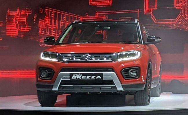 Auto Expo 2020: Maruti Suzuki ने पेश की पेट्रोल इंजनवाली Vitara Brezza