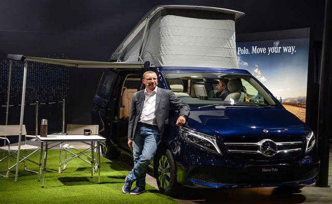 Auto Expo 2020: मर्सिडीज बेंज ने पेश की 1.38 करोड़ रुपये की MPV V Class Marco Polo