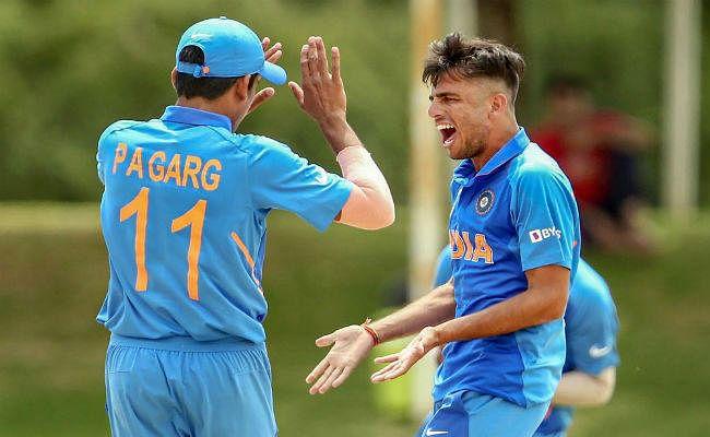 अंडर 19 विश्व कप फाइनल से पहले मंडेला चौक घूमने पहुंची भारतीय टीम