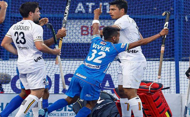 FIH प्रो लीग : बेल्जियम ने भारत को 3-2 से हराया