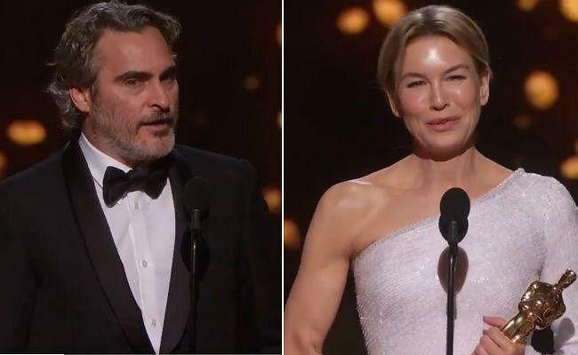 Oscars 2020 : 'पैरासाइट'' का बोलबाला, फीनिक्स और जेल्वेगर को सर्वश्रेष्ठ अभिनेता-अभिनेत्री