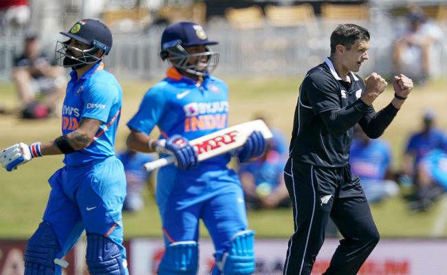 #NZvsIND : न्यूजीलैंड ने 31 साल में पहली बार वनडे में किया भारत का सूपड़ा साफ