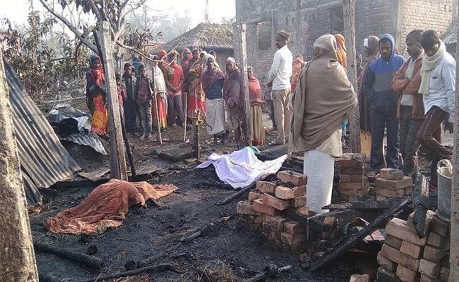 सुपौल : शॉट-सर्किट से लगी आग में जिंदा जला किशोर, पीड़ित परिवार में मचा कोहराम