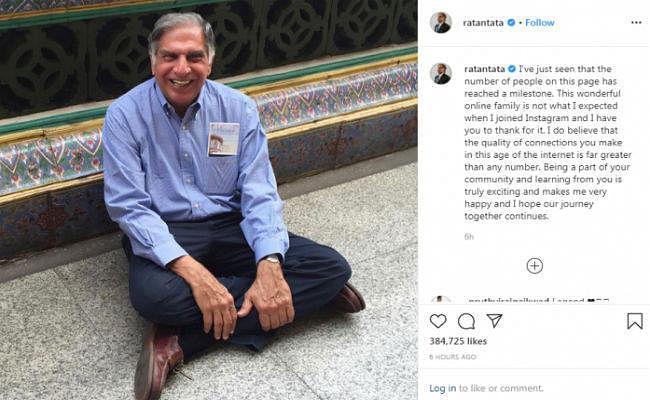 Instagram पर 10 लाख फॉलोअर्स वाले रतन टाटा को ''छोटू'' कहकर ये हो गईं ट्रोल; फिर Tata ने दिया जवाब