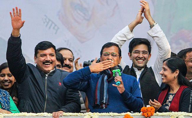 Delhi Election Result 2020 :  आप के संजीव झा सबसे बड़े अंतर से जीते, बिजवासन के उम्मीदवार की जीत का अंतर सबसे कम