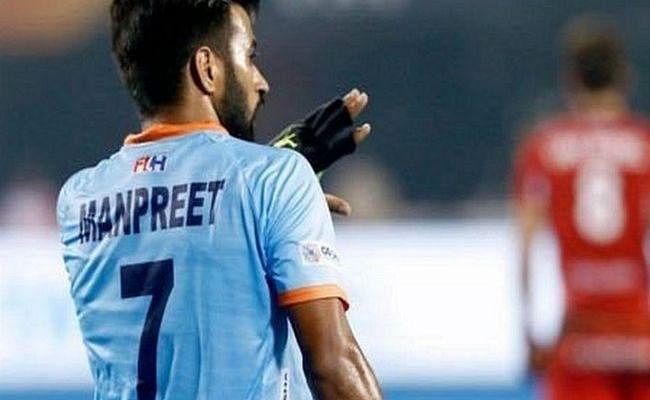मनप्रीत बने FIH के साल के सर्वश्रेष्ठ पुरुष खिलाड़ी का पुरस्कार जीतने वाले पहले भारतीय