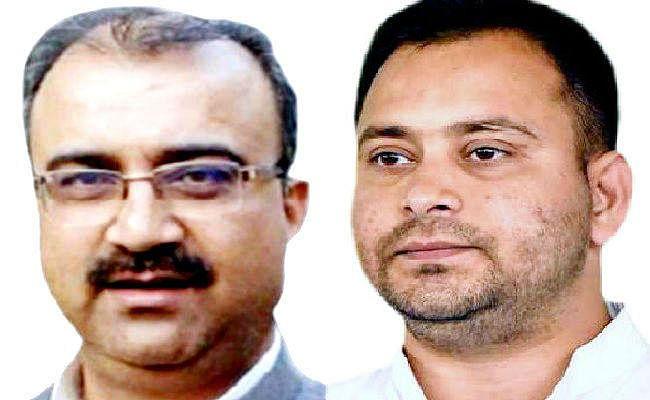मंत्री को नहीं पहचानते बिहार पुलिस के जवान, जाने से रोकने पर भड़के मंत्री, तेजस्वी यादव ने मंत्री के निलंबन की मांग की