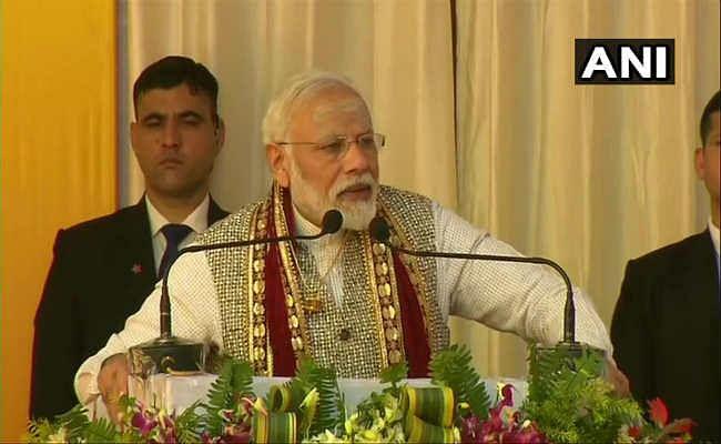 वाराणसी में बोले PM मोदी-  उन पुरानी समस्याओं का हुआ समाधान, जिनकी किसी ने कल्पना नहीं की थी