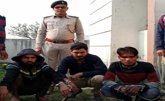 हरियाणा से दरभंगा लायी जा रही शराब की बड़ी खेप के साथ दो तस्कर गिरफ्तार