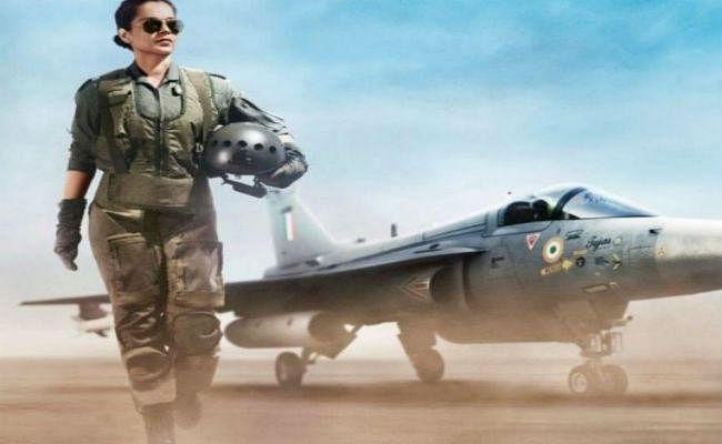 Tejas First Look : एयरफोर्स पायलट लुक में दमदार दिखीं कंगना रनौत