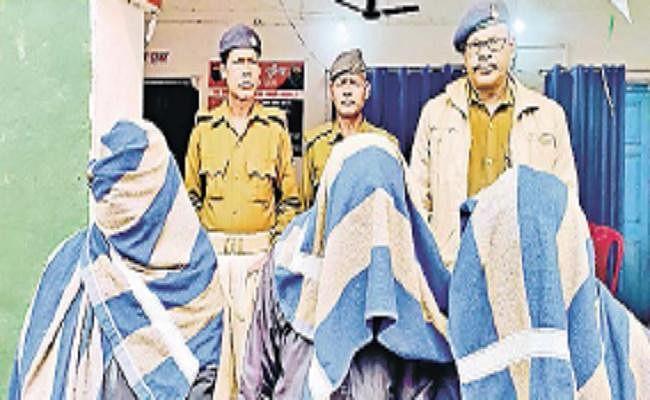 अष्टधातु की भगवान महावीर की मूर्ति के साथ अंतरराज्यीय गिरोह के तीन सदस्य गिरफ्तार