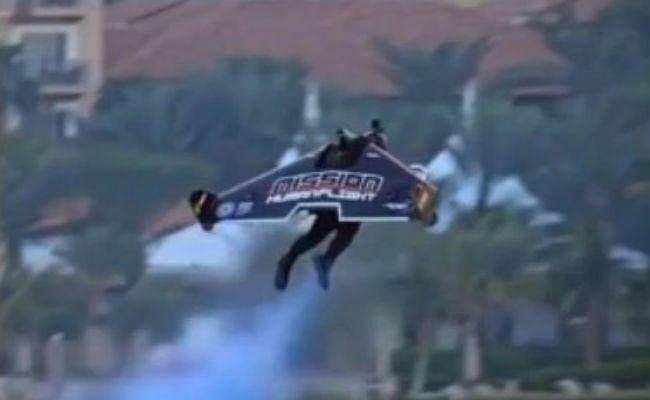 6,000 फीट की ऊंचाई से इस शख्स ने भरी उड़ान, फटी की फटी रह गयी सबकी आंखें, वीडियो वायरल