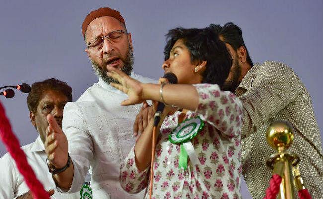 सीएए विरोध प्रदर्शन रैली में ''पाकिस्तान जिंदाबाद'' नारे से गरमायी राजनीति, असदुद्दीन ओवैसी बुरी तरह घिरे