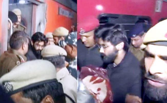 राजद्रोह के आरोप में गिरफ्तार शरजील को पूछताछ के लिए असम लाया गया