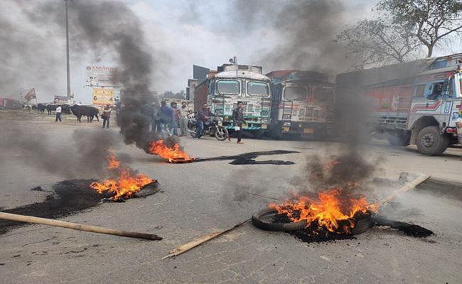 भीम आर्मी का 'भारत बंद', बिहार में रोकी ट्रेन, जीतन राम मांझी और पप्पू यादव समेत 200 लोगों पर एफआईआर