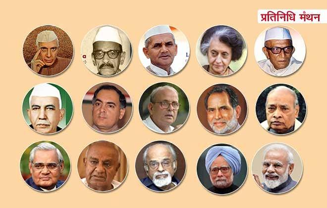 देश ने अब तक 15 प्रधानमंत्री देखे हैं, सबकी कुंडली (जानकारी) यहां है।