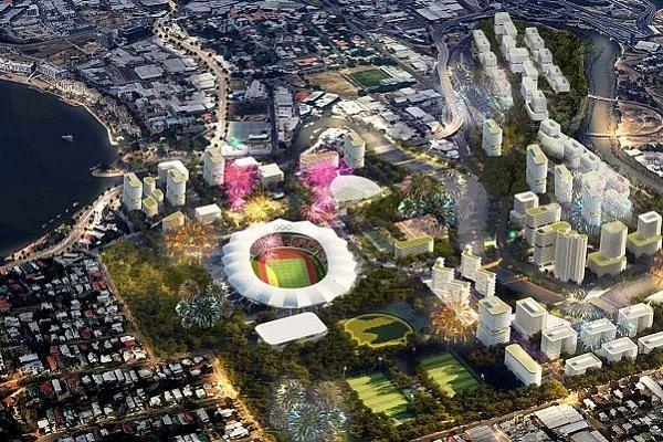 Brisbane Olympic Stadium