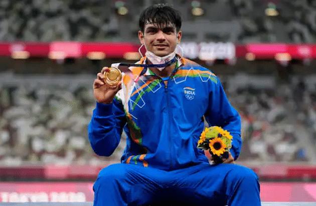 भारत ने रचा इतिहास, नीरज चोपड़ा ने जेवलिन थ्रो में भारत को दिलाया गोल्ड: ओलिंपिक 2020