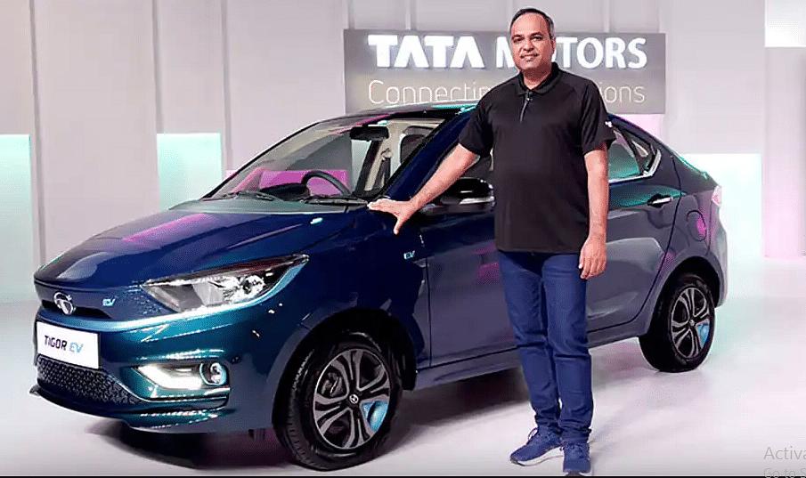 11.99 लाख रुपये की कीमत पर लॉन्च हुई टाटा मोटर्स की टिगोर 'EV'