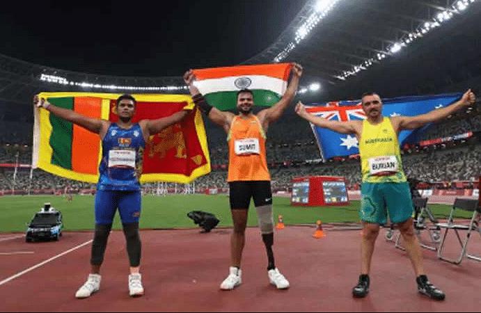 सुमित अंतिल ने भारत को दिलाया दूसरा स्वर्ण पदक, वर्ल्ड रिकॉर्ड भी तोड़ डाला: टोक्यो पैरालिंपिक 2020