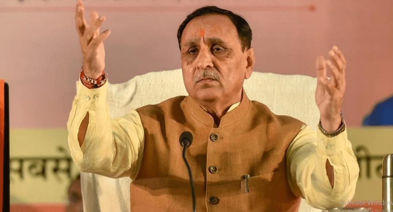 गुजरात के मुख्यमंत्री 'विजय रूपाणी' का पद से इस्तीफ़ा