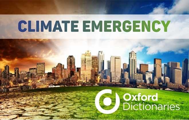 शब्दों में भी दिखने लगा प्रदूषण का प्रकोप, वर्ड ऑफ़ द ईयर 'Climate Emergency'
