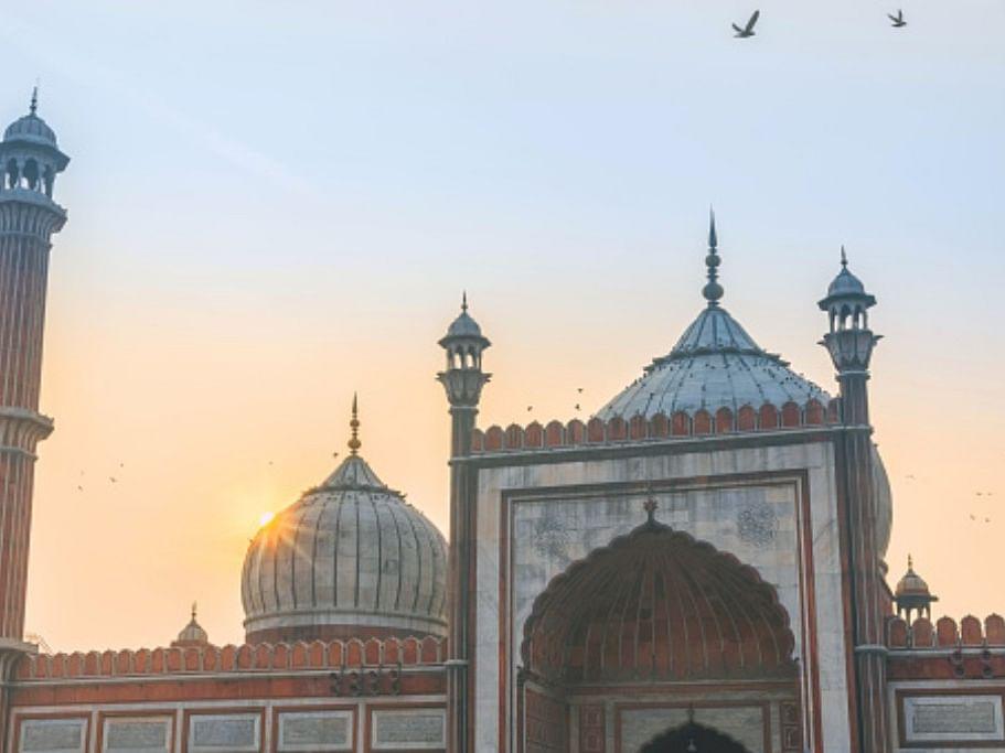 دہلی کی تاریخی جامع مسجد کی ایک تصویر (گیٹی امیج)