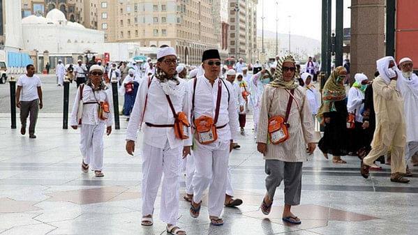 سعودی عرب میں 447300 عازمین حج کی آمد