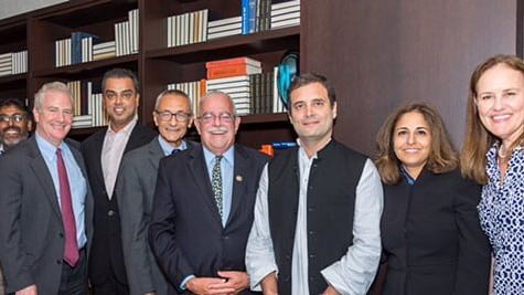راہل گاندھی کی امریکی صنعت کاروں سے ملاقات