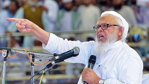 جمعیۃ علماء ہند کے صدر مولانا ارشد مدنی کی فائل تصویر