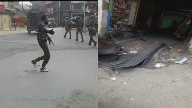 کشمیر: سوپور میں ہلاکت خیز دھماکے میں 4 پولس اہلکار ہلاک