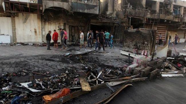 بغداد میں خودکش دھماکے،25 افراد ہلاک،63زخمی