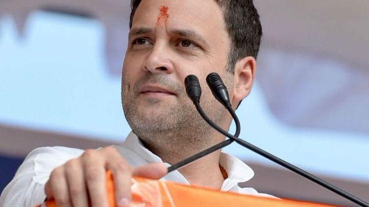 ہندوستان کا آئین ہماری جدوجہد اور وجود دونوں کی شناخت ہے: راہل گاندھی