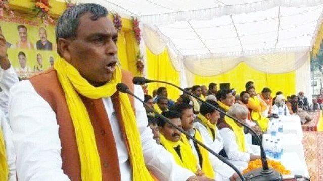 رام مندر کے نام پر الیکشن کے لیے چندہ جمع کر رہی بی جے پی: اوم پرکاش راجبھر