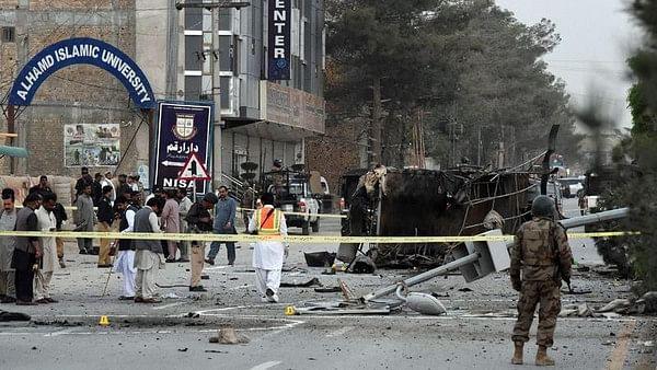 پاکستان: کوئٹہ شہر میں خودکش بم حملہ، 6 پولس اہلکار ہلاک