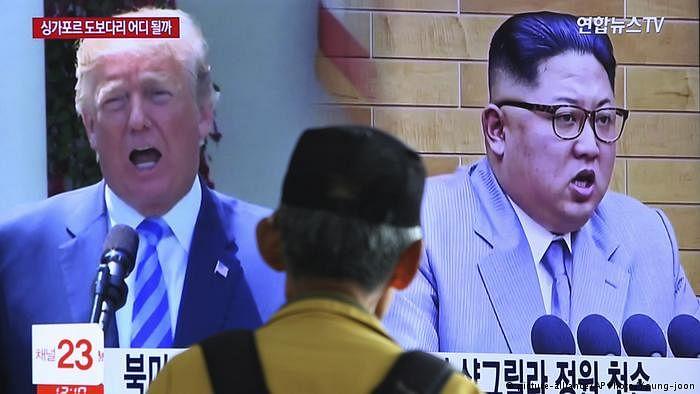 صدر ٹرمپ نے شمالی کوریائی رہنما سے اپنی ملاقات منسوخ کر دی