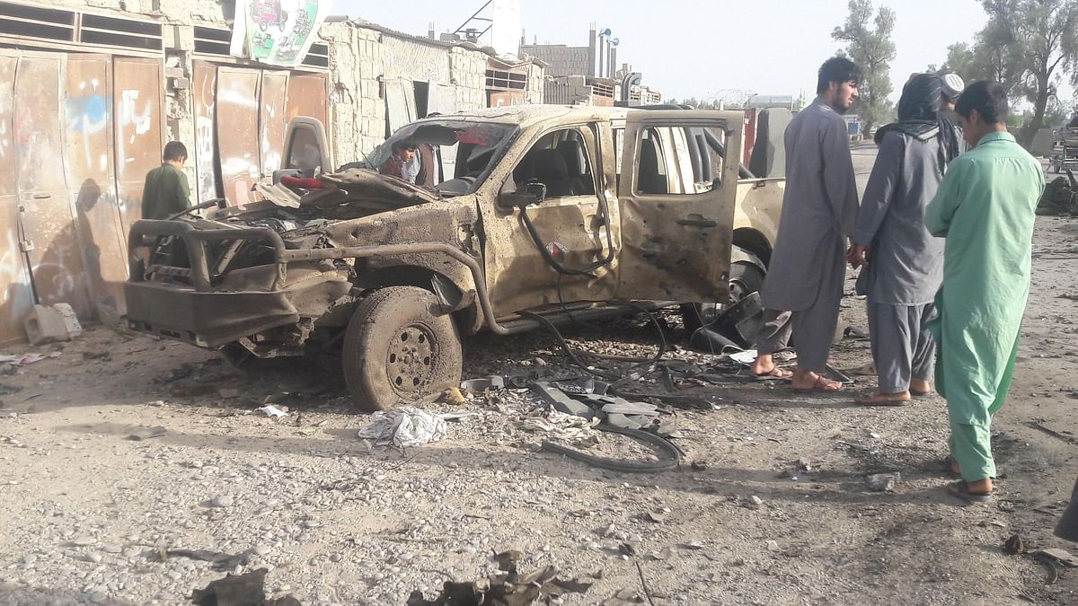 امریکی اور افغان فوجیوں کی طالبان کے ٹھکانوں پر بمباری
