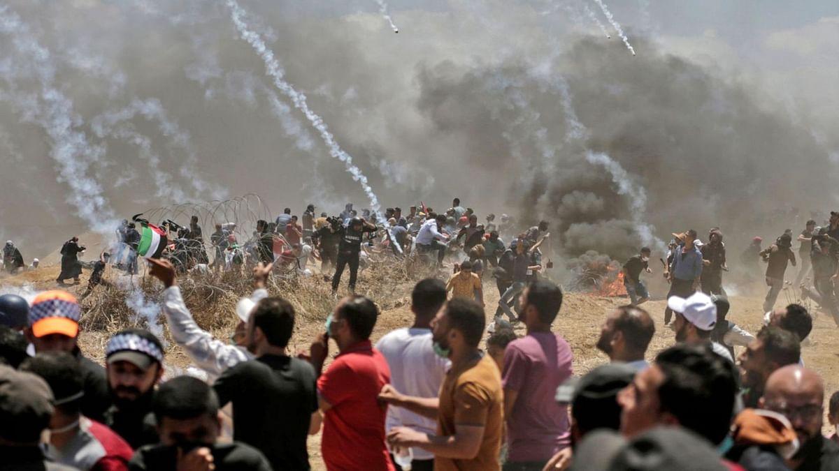 اسرائیل کے ہاتھوں 58  فلسطینی شہید،جنوبی افریقہ نے اپنا سفیر واپس بلایا