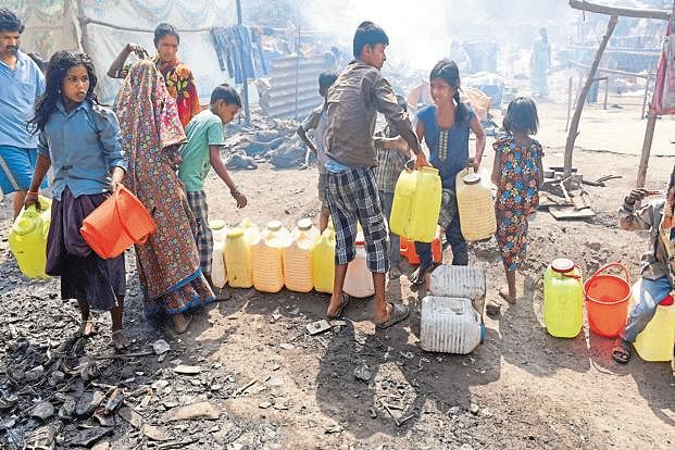 ہندوستان میں پانی کی قلت کا  گھمبير مسئلہ: رپورٹ