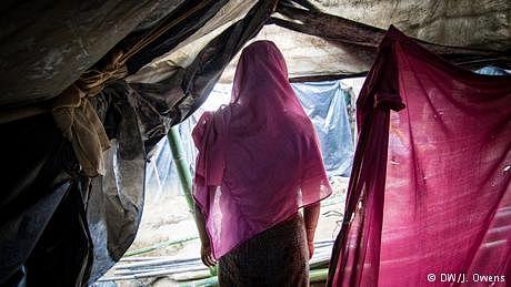 تیرہ سالہ معصوم روہنگیا جو جنسی زیادتی کے سبب ماں بنی